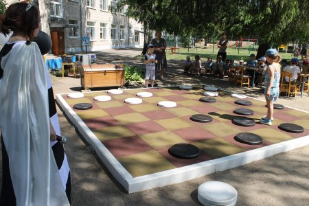 Турнир по шашкам среди детей старшего дошкольного возраста  МАДОУ «Детский сад №11 Центр развития ребёнка»