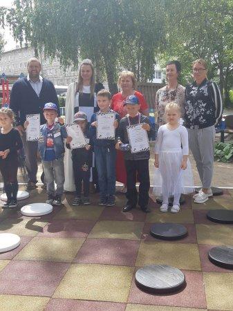 1 муниципальный шашечный турнир среди дошкольников