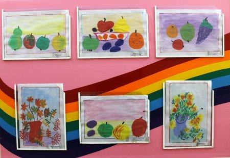 """Выставка детских рисунков """"Осенние натюрморты"""""""